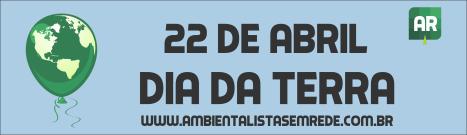 Dia da Terra banner
